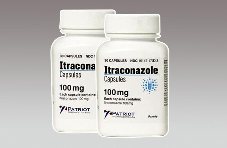 Hình ảnh thuốc trị hắc lào Itraconazole dạng viên