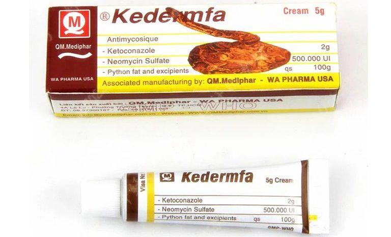 Kem bôi Kedermfa chính là một lựa chọn cho người bị hắc lào