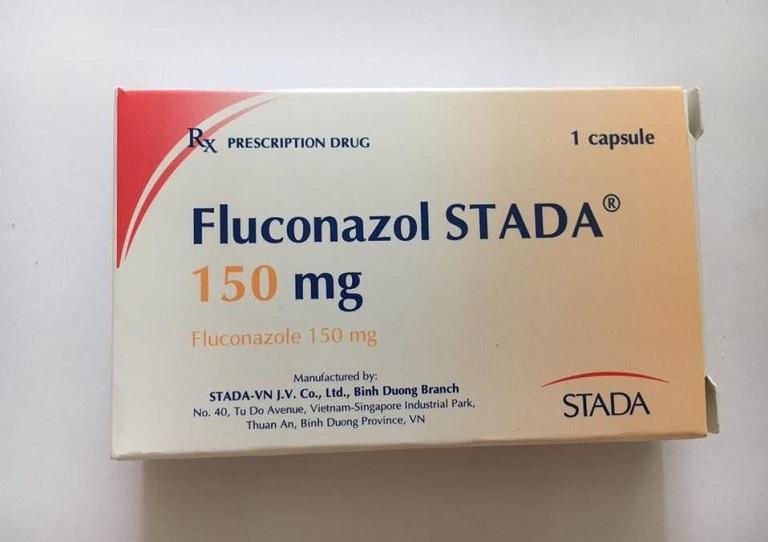 Fluconazole dạng uống dùng trong trị bệnh lang ben