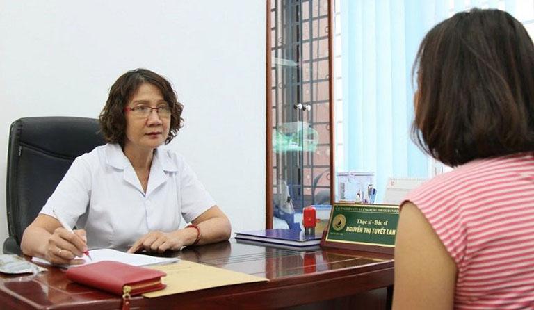 Bác sĩ Nguyễn Thị Tuyết Lan - Nguyên Trưởng khoa Nội, Bệnh viện YHCT trung ương