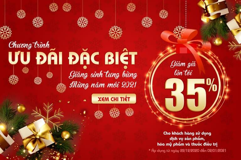 Chương trình khuyến mãi lớn nhất trong năm dành cho khách hàng của Trung tâm Da liễu Đông y Việt Nam