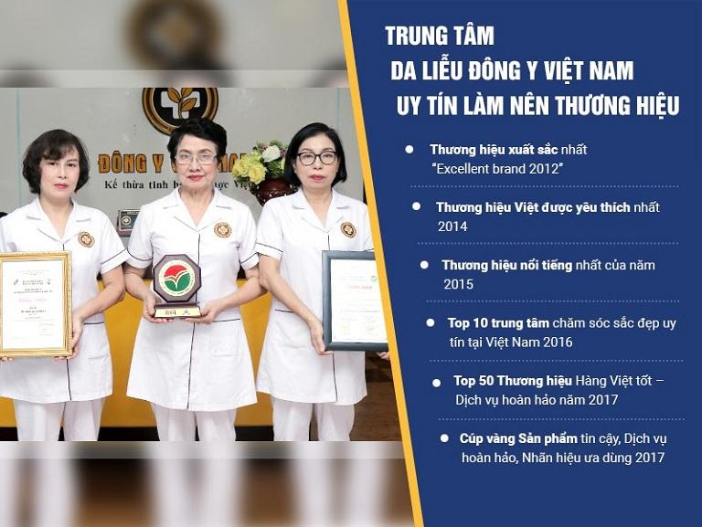 Trung tâm Da liễu Đông y Việt Nam - Địa chỉ chăm sóc sắc đẹp tin cậy của bạn