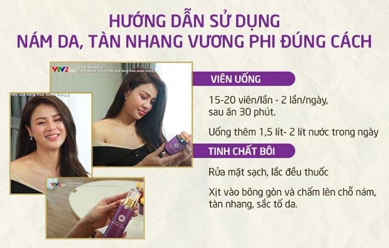 Sử dụng tiện lợi, dễ dàng nên bộ sản phẩm Vương Phi phù hợp với rất nhiều đối tượng phụ nữ