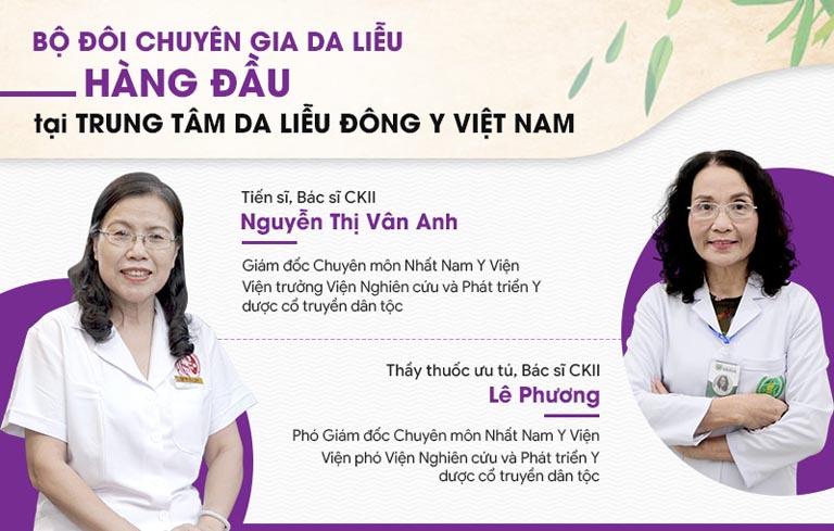 Bác sĩ Lê Thị Phương, bác sĩ Vân Anh đều là những chuyên gia đã dành trọn tâm sức vào nghiên cứu, phát triển bộ sản phẩm Vương Phi thế hệ 2