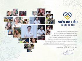 Thư cảm ơn của Giám đốc Trung tâm Da liễu Đông y Việt Nam Nguyễn Quang Tân
