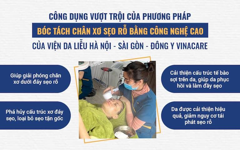 Giải pháp trị sẹo ĐỘT PHÁ tại Viện Da liễu HN-SG