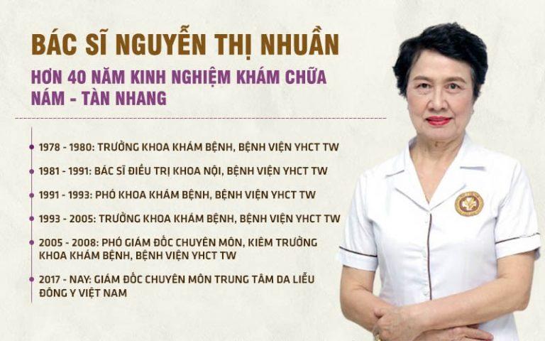 Chân dung bác sĩ Nguyễn Thị Nhuần