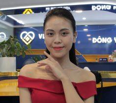 Làn da của chị Trang đã cải thiện rất tốt sau khi trị mụn tại Viện Da liễu Hà Nội - Sài Gòn