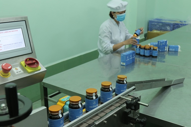 Viện Da liễu mở rộng quy mô đồng thời nâng cấp quy trình sản xuất, sản phảm chất lượng