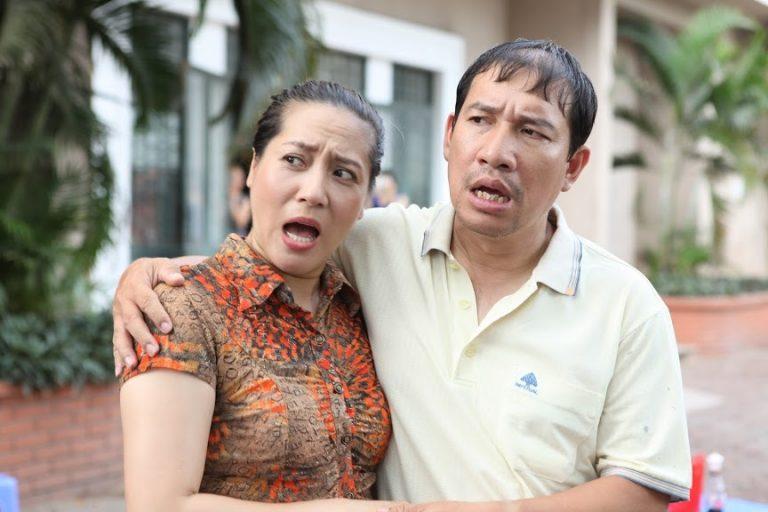 Nghệ sĩ Thu Huyền (trái) là diễn viên thực lực trong mảng phim truyền hình Việt Nam