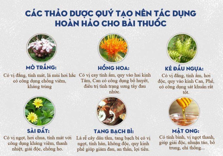 Bài thuốc An Bì Thang sử dụng thảo dược quý, đặc hiệu, tiêu chuẩn GACP - WHO