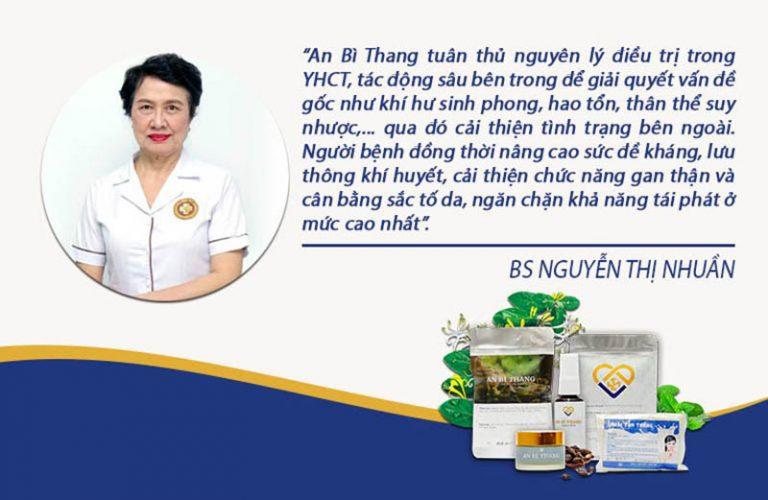 Bác sĩ Nhuần đánh giá về bài thuốc An Bì Thang trên VTV