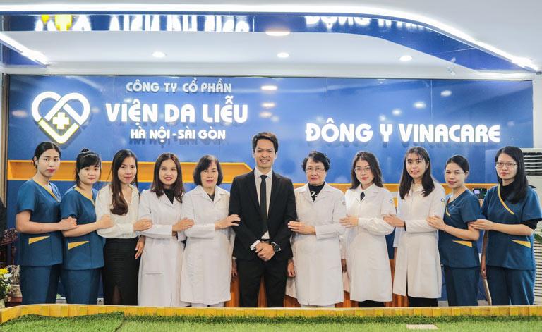 Viện Da liễu Hà Nội - Sài Gòn tự hào là đơn vị số 1 về chăm sóc sắc đẹp và sức khỏe tổng thể