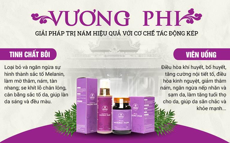 Vương Phi - giải pháp điều trị nám, tàn nhang hiệu quả số 1 Việt Nam