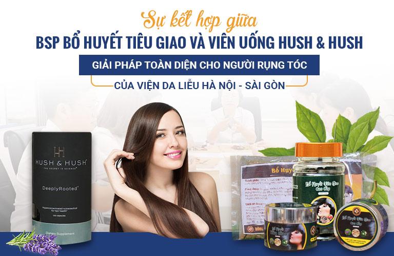Viên uống Hush & Hush hỗ trợ trị rụng tóc hiệu quả